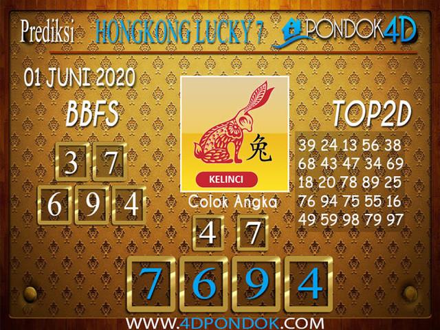 Prediksi Togel HONGKONG LUCKY 7 PONDOK4D 09 JUNI 2020