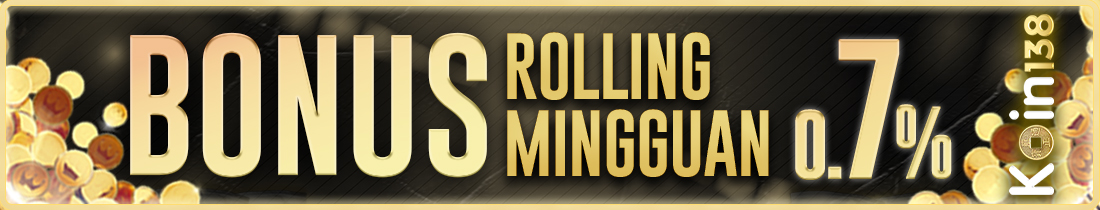 Bonus Rollingan 0,7%