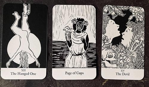 An image of some tarot cards.