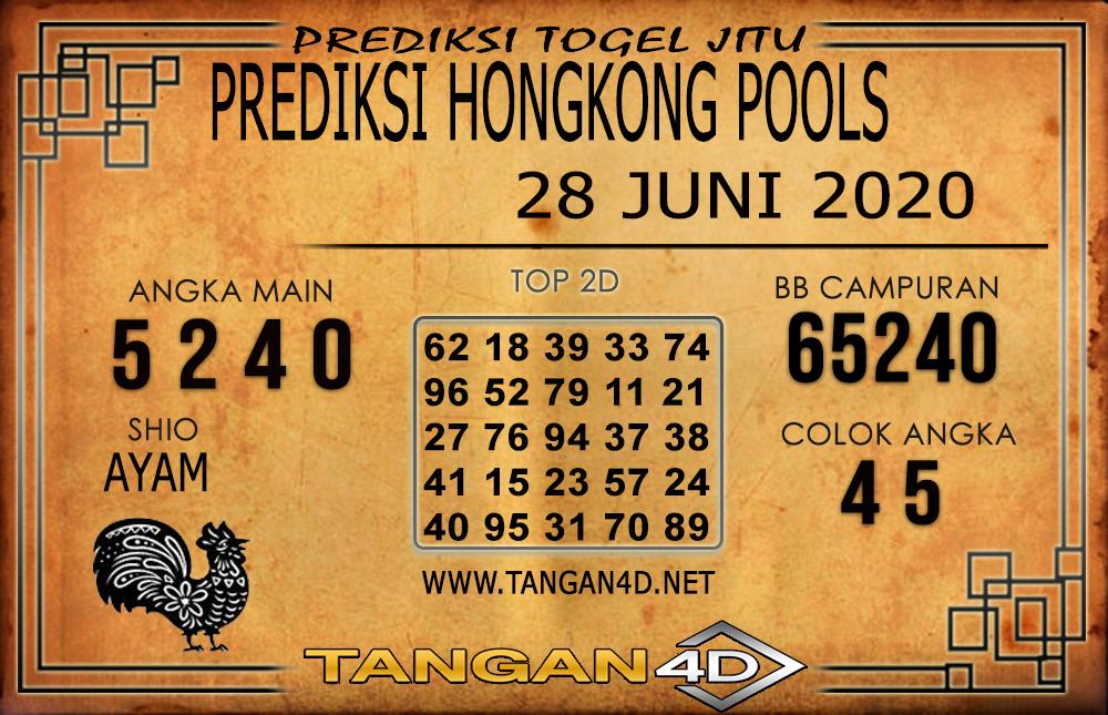 PREDIKSI TOGEL HONGKONG TANGAN4D 28 JUNI 2020