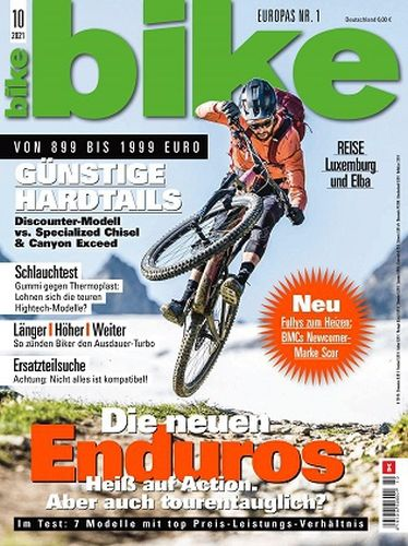 Cover: Bike Das Mountainbikemagazin Oktober No 10 2021