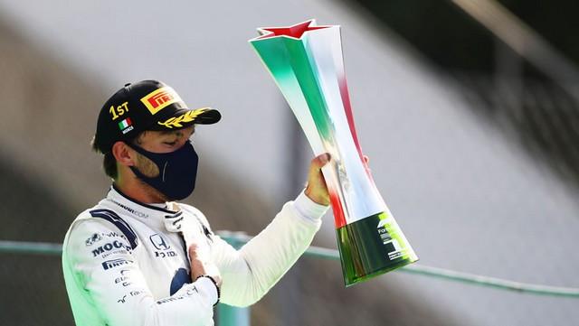 F1 GP d'Italie 2020 : Victoire Pierre Gasly (Alpha Tauri) Italian-grand-prix-2020