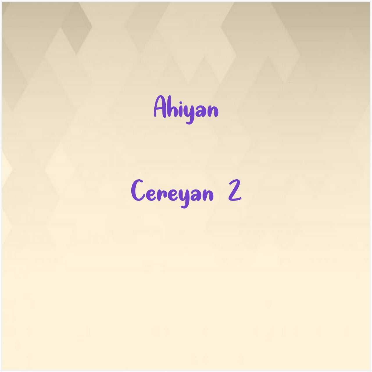 دانلود آهنگ جدید Ahiyan به نام Cereyan 2