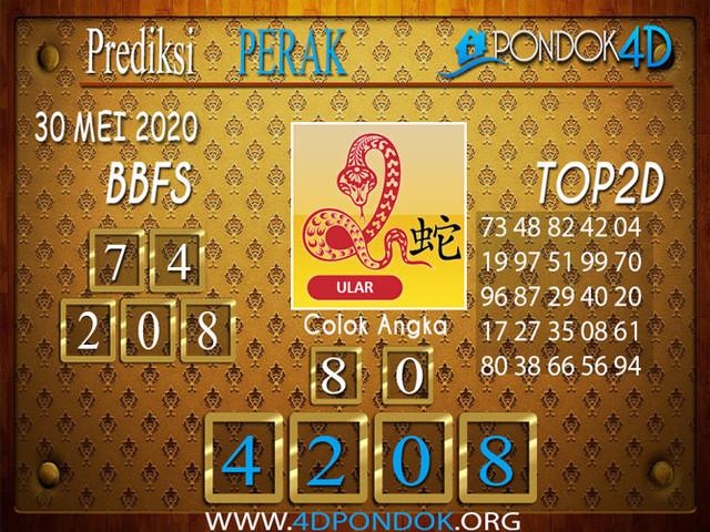Prediksi Togel PERAK PONDOK4D 30 MEI 2020