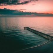 pier-dock-sea-dusk-shore-118549-3840x2400