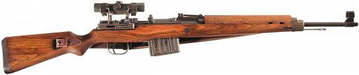 """Sniper """"Walter 43"""" Gewehr 43."""