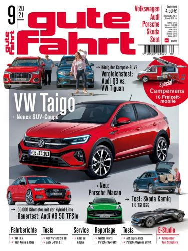 Cover: Gute Fahrt Automagazin September No 09 2021