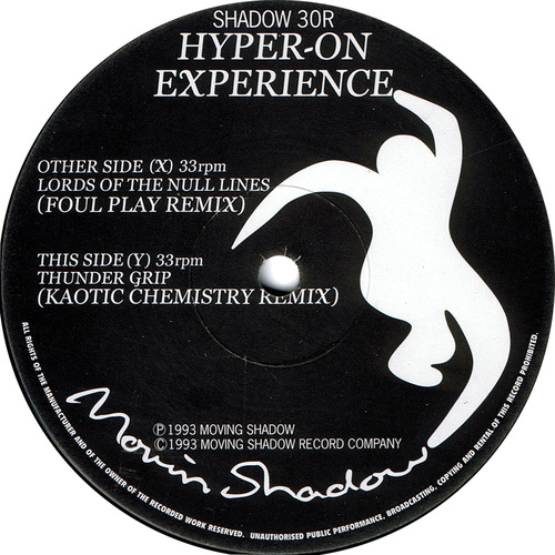 Hyper-On Experience - The Remixes 1993