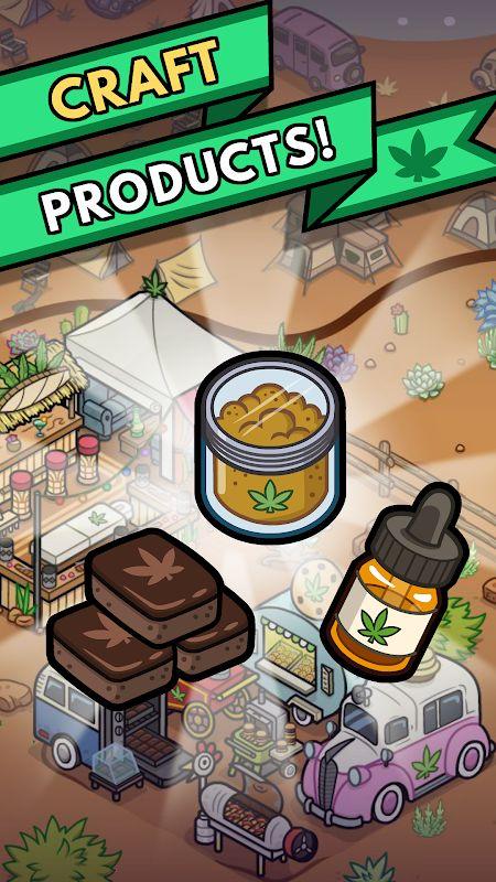 Bud Farm: 420 (MOD, Currency/XP)