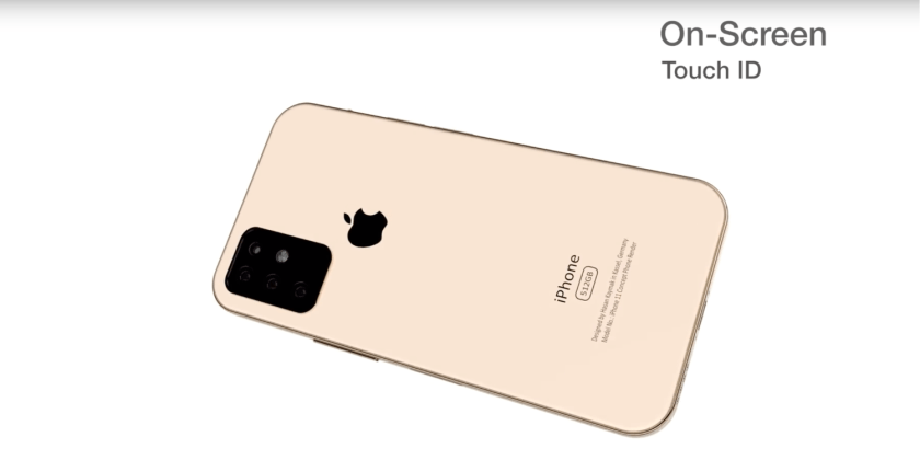 New concept of the highly anticipated iPhone XI (11), triple camera and design similar to iPad Pro?