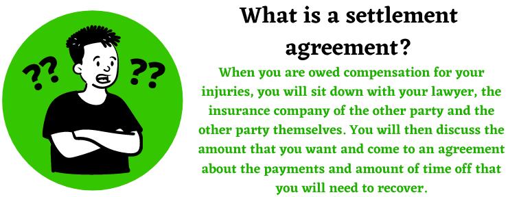 settlement agreement help