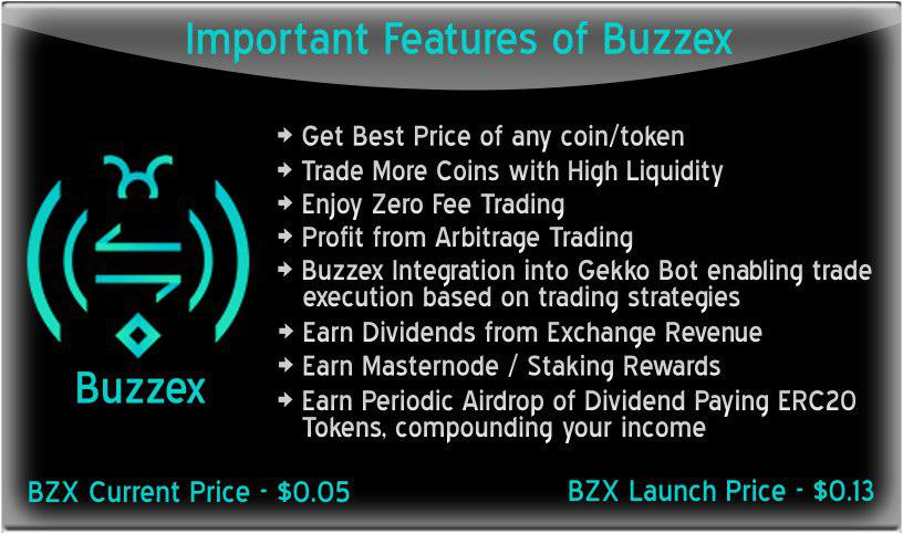 ANN] BUZZEX Exchange  ✅FREE Coins ✅Trade Discounts