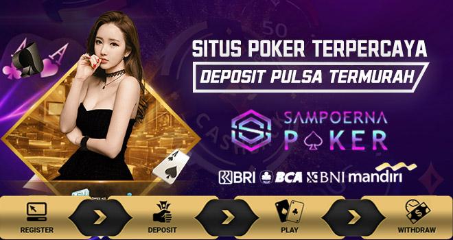 Poker Deposit Pulsa 10 Ribu