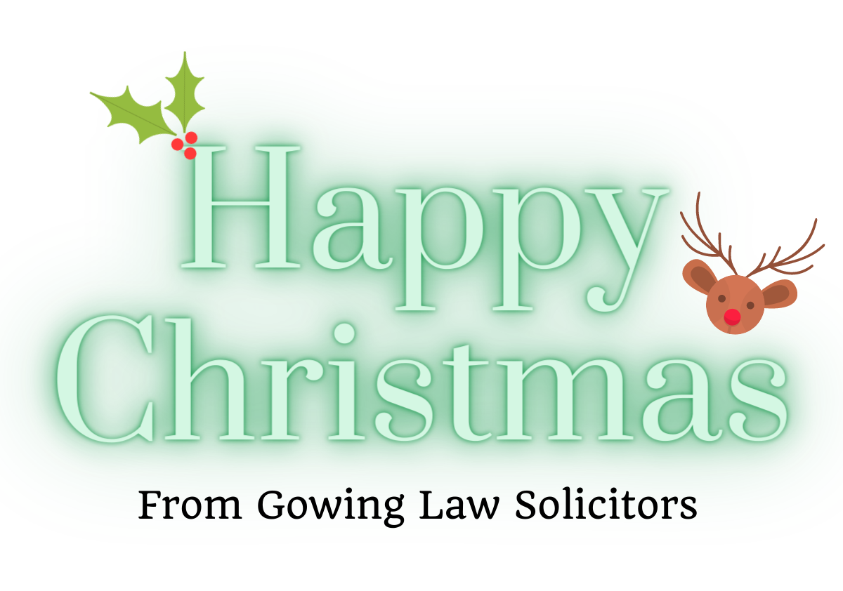 Christmas at Gowing Law Solicitors