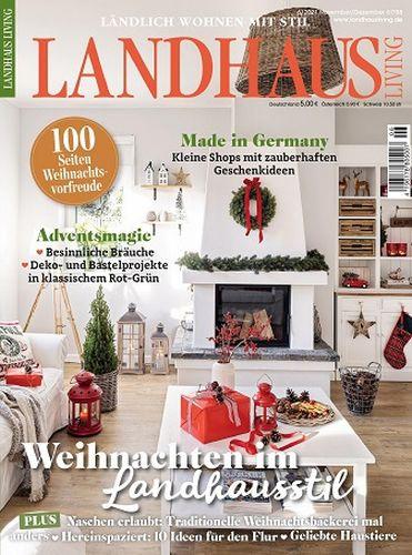 Cover: Landhaus Living Magazin No 06 November Dezember 2021