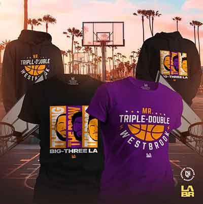 Confira a coleção BIG3 do Lakers