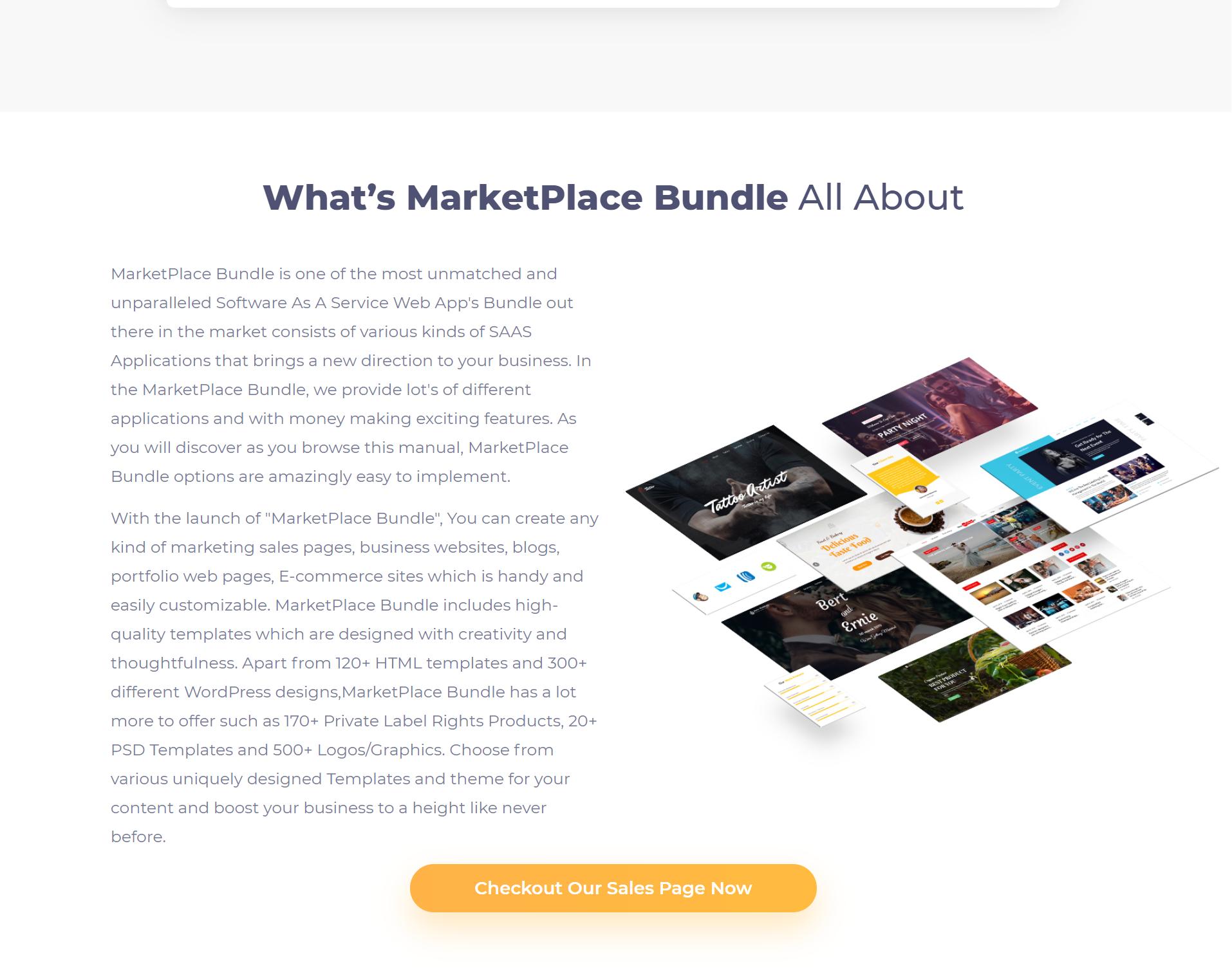 Marketplace Bundle Review