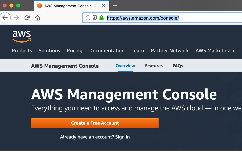 Amazon Services Configuration
