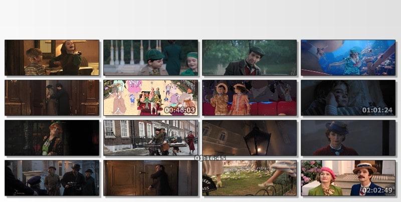 El Regreso de Mary Poppins Capturas