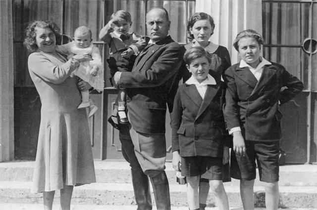 Benito Mussolini's family