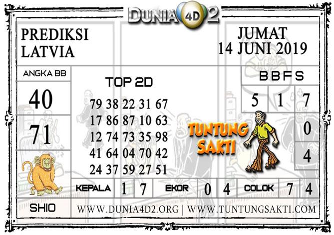 """Prediksi Togel """"LATVIA"""" DUNIA4D2 14 JUNI 2019"""
