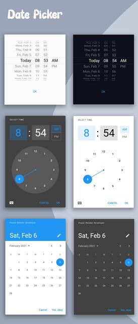 Material Design - Flutter Ui Kit Android - 6