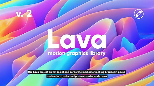 Lava | Social Media Pack 24118486 V2 - Project & Script for After Effects (Videohive)