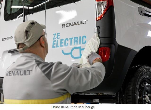 Renault Group signe un accord social et crée Renault ElectriCity: le pôle industriel électrique du nord de la France Usine-Renault-de-Maubeuge-1