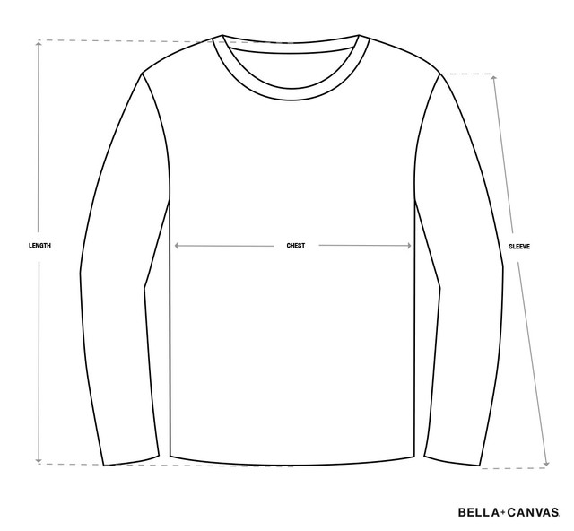Size-Chart-Crewneck-Bella-and-Canvas