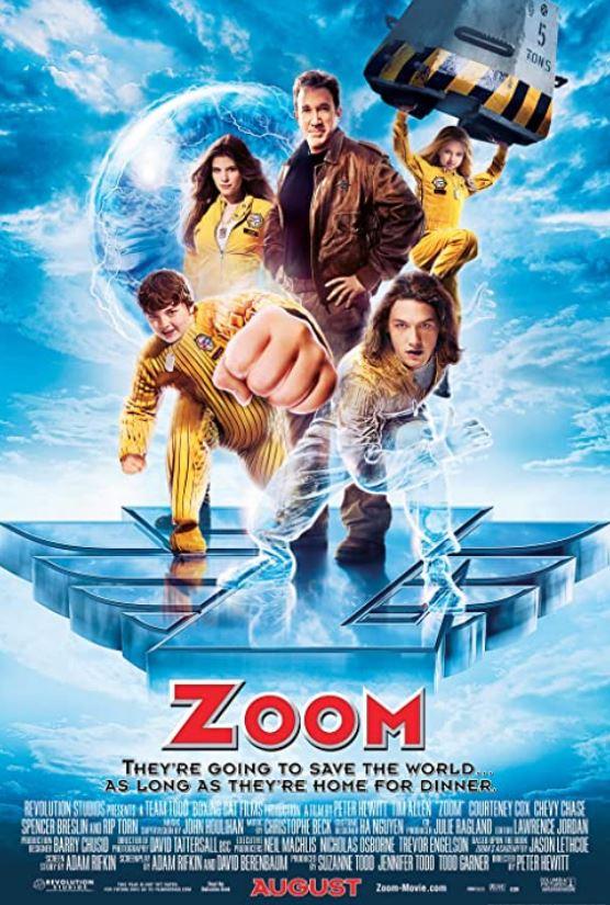 Zum Super Kahraman Akademisi - Zoom (2006) 1080p BEiN WEB-DL [TR] AAC H264