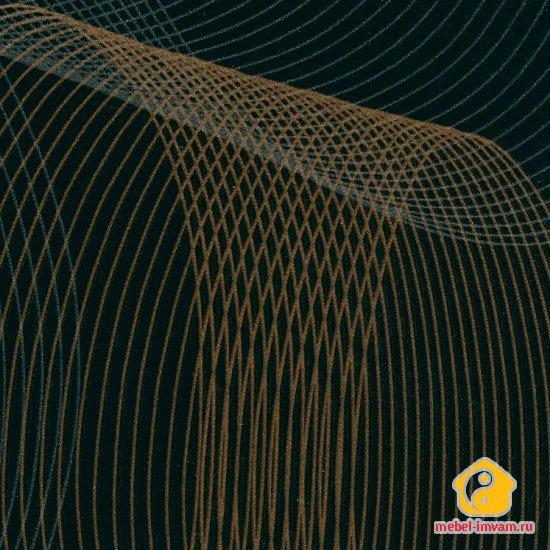 МДФ 6380 Летучая мышь черный глянец