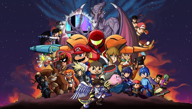 Smash Bros Infinity War A