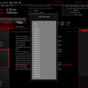 BIOS Adv CPU Lite Load - Testers Keepers mit MSI MPG Z590 Gaming Force