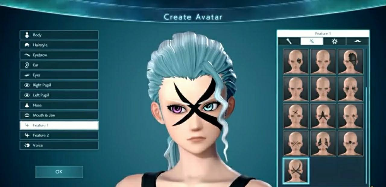 Jump Force Character Creation