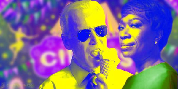 Joy Reid Gives Joe Biden Pass on N-Word in Primetime Debut…
