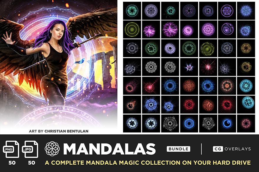 ultimate magic overlay bundle mandalas