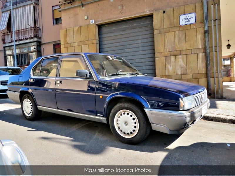 avvistamenti auto storiche - Pagina 7 Alfa-Romeo-90-2-0-128cv-87-CT767981-92-403-4-5-2020-1