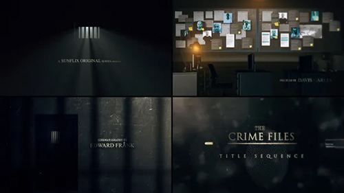 The Crime Files I Title Sequence 32164074 - Project for After Effects (Videohive)