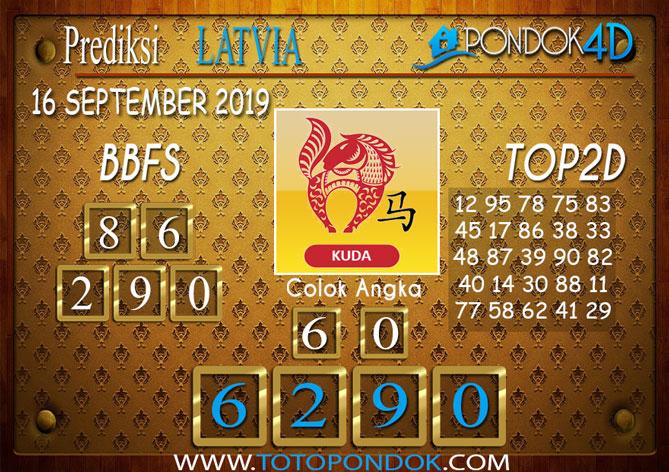 Prediksi Togel LATVIA POOLS PONDOK4D 16 SEPTEMBER 2019