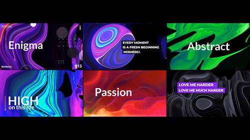 Enigma_Abstract Titles V4 33547718 - Project for After Effects (Videohive)