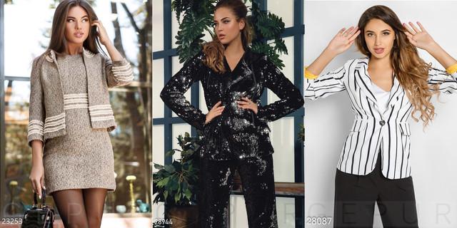 выбор женских жакетов и пиджаков фото