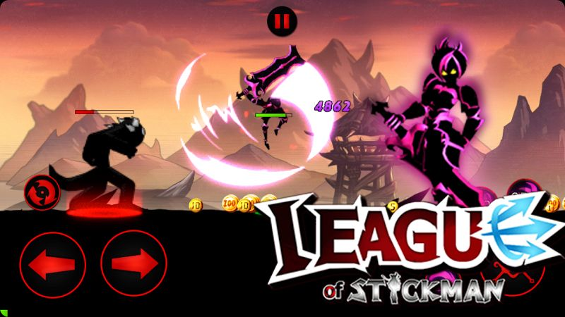 League of Stickman 2020 (MOD, Ability/Shopping/All Heros)