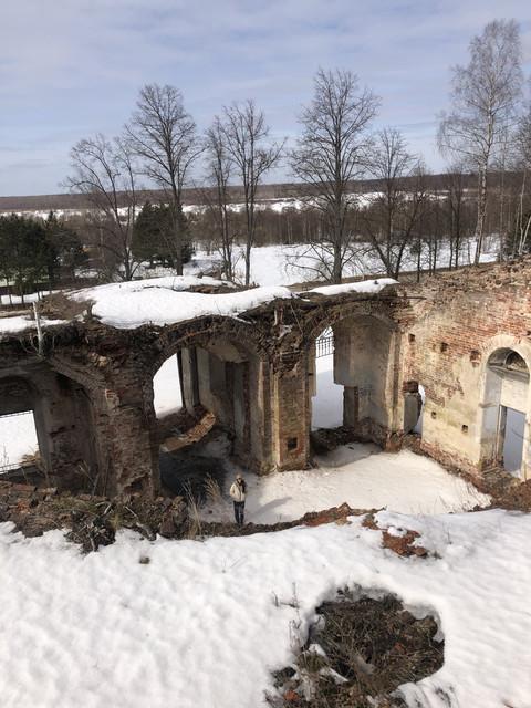 Заброшенный храм Архистатига Божия Архангела Михаила д. Береста
