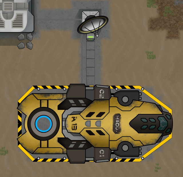 MiningCo. Spaceship
