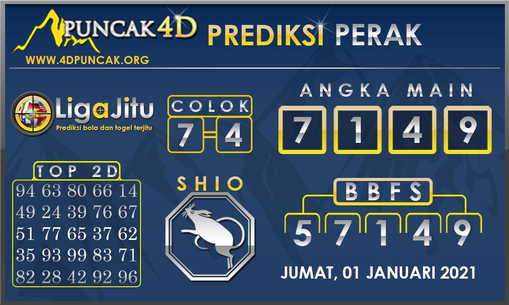 PREDIKSI TOGEL PERAK PUNCAK4D 01 JANUARI 2021