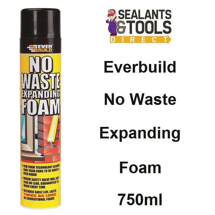 Everbuild No Waste Expanding Foam 750ml NOWASTEHH