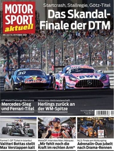 Cover: Motorsport Aktuell Magazin No 44 vom 13  Oktober 2021