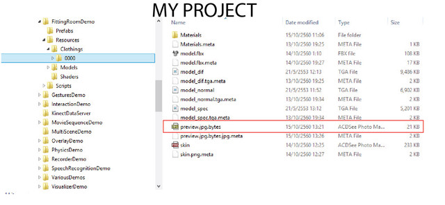 Preview File My Project