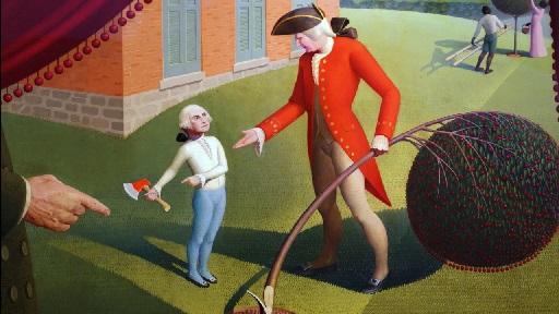 George Washington e a cerejeira