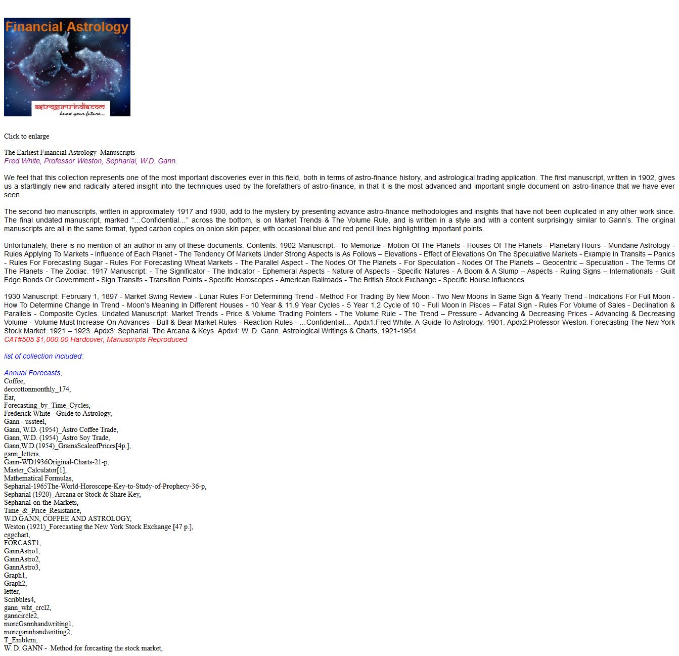 Astrology for Gann Traders(BONUS Steinitz HAS MTF Hedge Robot v3.21)(SEE 1 MORE Unbelievable BONUS INSIDE!!)